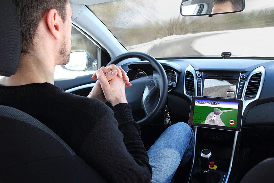 Autonomous driving with system.