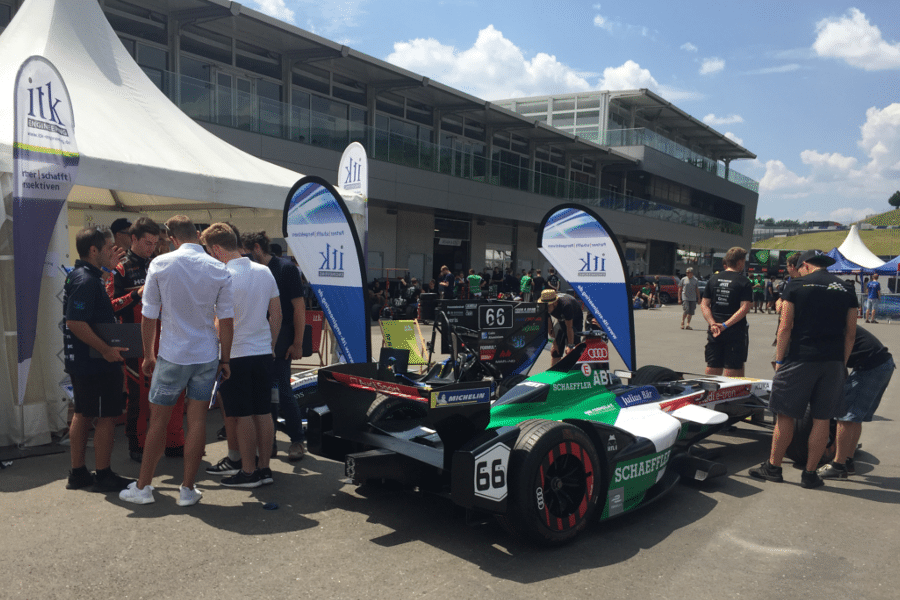ITK at the Formula Student in Austria.