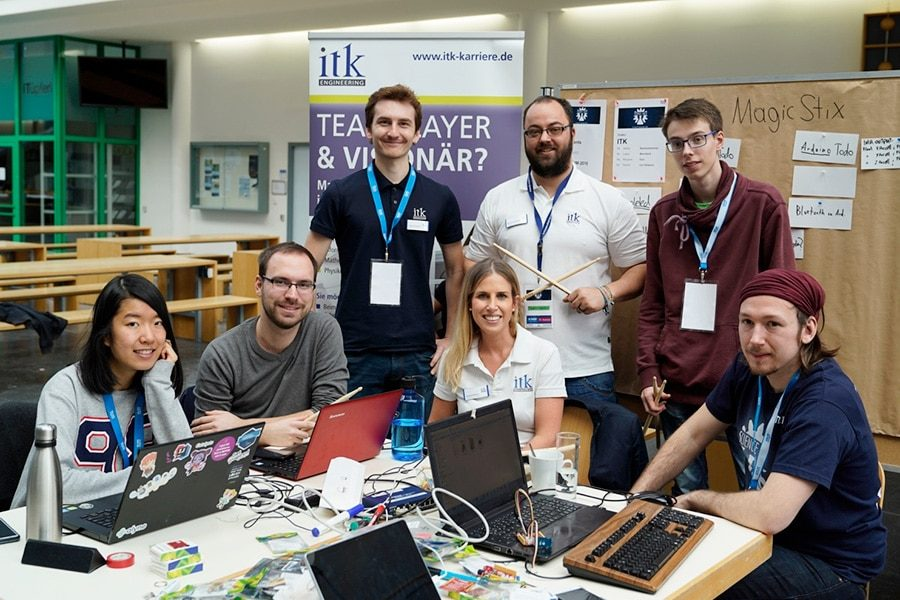 Team ITK wins 1st place at Science Hackathon